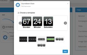 Publicare Picsonal - Timing