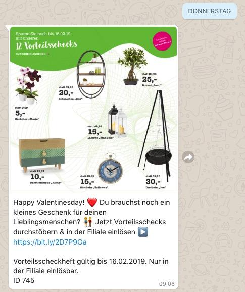 Whatsapp Beispiel Moemax