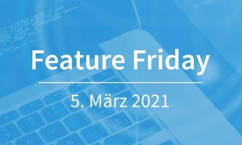 FeatureFriday-05-03-2021